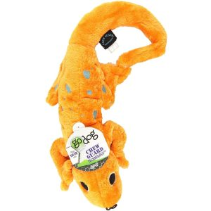 goDog Amphibianz – Orange Bubble Gecko with Chew Guard Technology