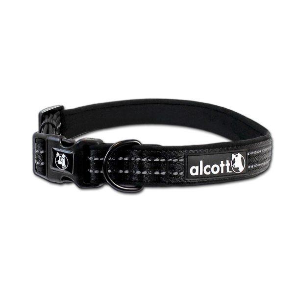 Alcott Collar Black - Collars - Xtra Dog