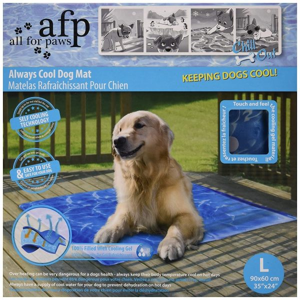 All for Paws Always Cool Dog Mat - Cooling Mats - Xtra Dog