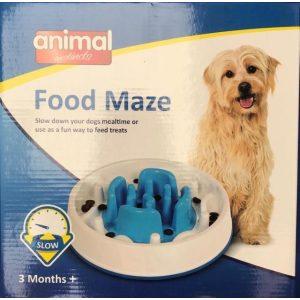 Animal Instincts Dog Slow Feeder Maze Puzzle – Anti Gulp Slows Down Feeder