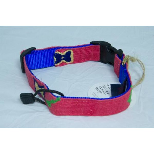 A Tail We Could Wag, Camas Flower (Think Pink) - Collars - Xtra Dog
