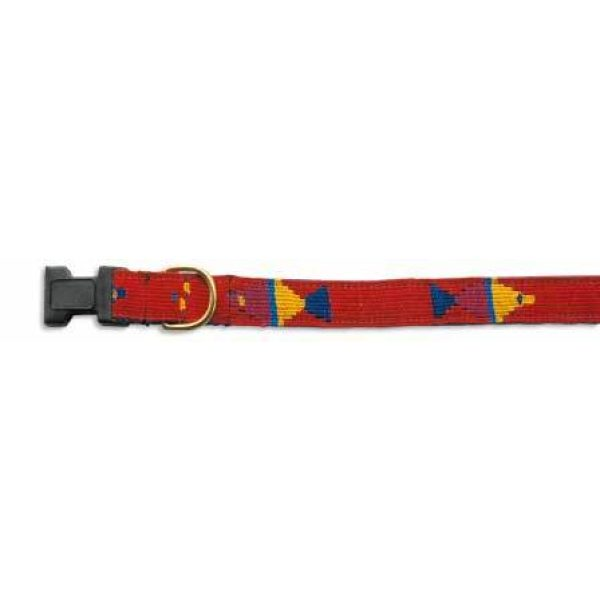 A Tail We Could Wag, Foolish Fish (Real Red) - Collars - Xtra Dog