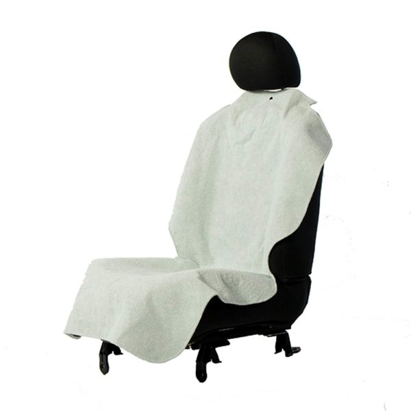 Bergan Car Seat Single Poncho Grey - Seat Protectors - Xtra Dog