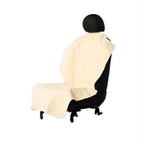 Bergan Car Seat Single Poncho Tan - Seat Protectors - Xtra Dog