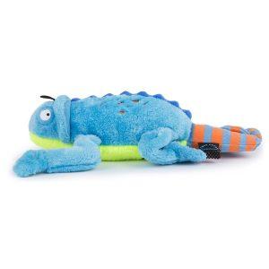 goDog Amphibianz – Blue Chameleon with Chew Guard Technology