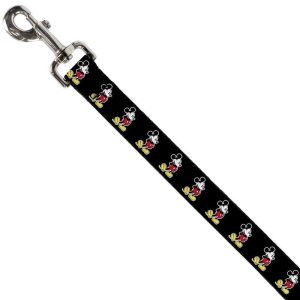 Buckle-Down Mickey Mouse Classic Pose Dog Lead (4ft)