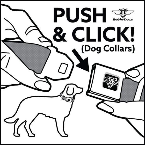 Buckle-Down Mickey Mouse Dog Collar - Collars - Xtra Dog