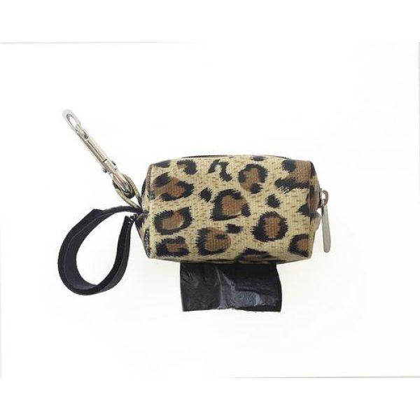 Designer Duffel Poo Bag Dispenser - Cheetah - Poo Bags - Xtra Dog