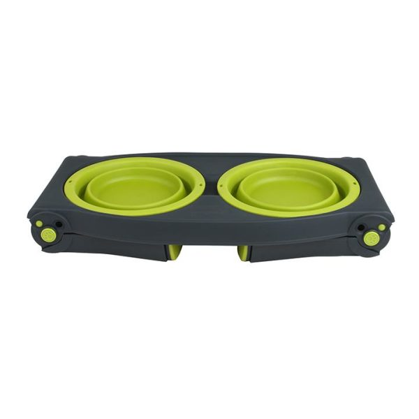 Dexas Adjustable Elevated Feeder - Dog Bowls - Xtra Dog