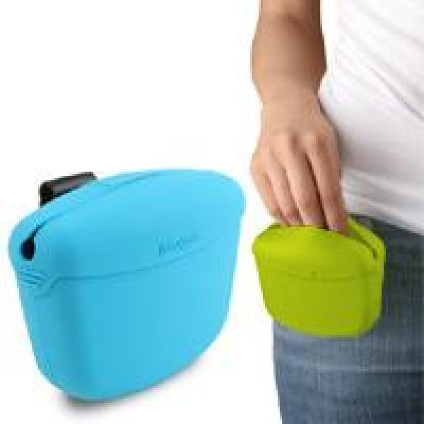 Dexas Popware Pooch Pouch Treat Pouch - Dog Bowls - Xtra Dog