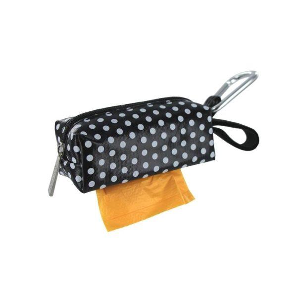DogBag Colour Block Duffel (Large) Poo Bag Dispenser - Black Dot - Poo Bags - Xtra Dog