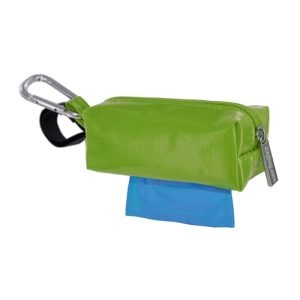 DogBag Colour Block Duffel (Large) Poo Bag Dispenser – Green