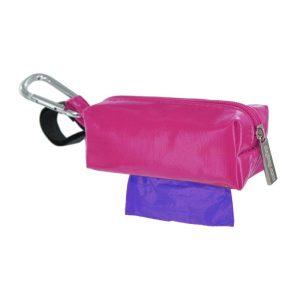 DogBag Colour Block Duffel (Large) Poo Bag Dispenser – Pink