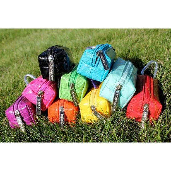 DogBag Colour Block Duffel (Large) Poo Bag Dispenser - Red - Poo Bags - Xtra Dog