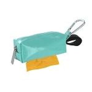 DogBag Colour Block Duffel (Large) Poo Bag Dispenser – Seafoam