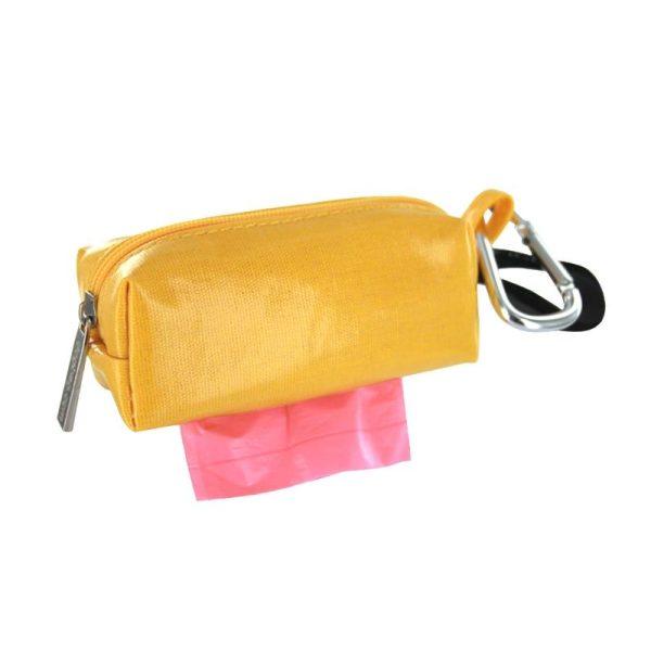 DogBag Colour Block Duffel (Large) Poo Bag Dispenser - Yellow - Poo Bags - Xtra Dog
