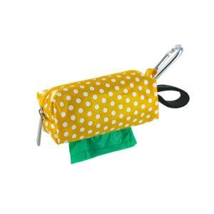DogBag Colour Block Duffel (Large) Poo Bag Dispenser – Yellow Dot