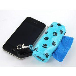 DogBag Duffel Poo Bag Dispenser (Large) – Blue Paw