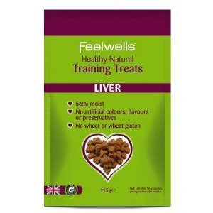 Feelwell's, Natural, Liver Training Treats