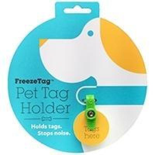 Freeze Tag Green - Dog Tags - Xtra Dog