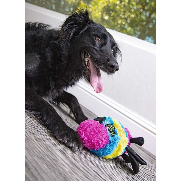 goDog Bugs Bee with Chew Guard Technology - Plush Toys - Xtra Dog