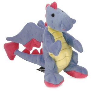 goDog Dragons Periwinkle with Chew Guard Technology
