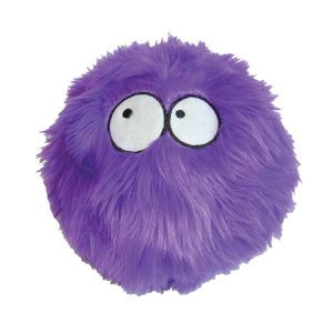 goDog Furrballz with Chew Guard Technology Tough Plush Dog Toy