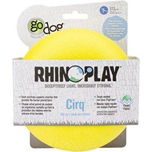 goDog RhinoPlay Cirq - Retrieve Toys - Xtra Dog