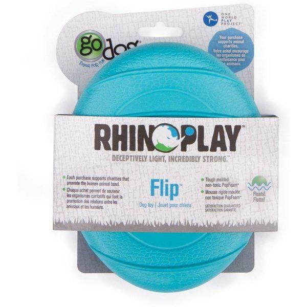 goDog RhinoPlay Flip - Retrieve Toys - Xtra Dog