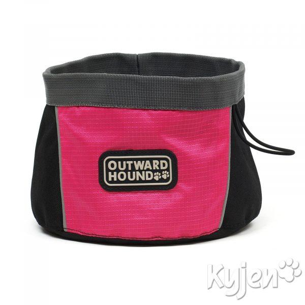 Kyjen Outward Hound Port A Bowl 25oz / 48oz - Dog Bowls - Xtra Dog