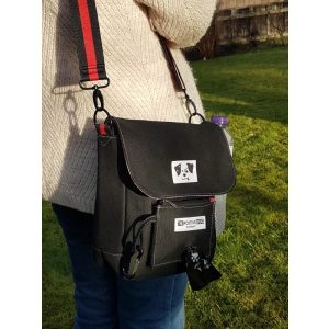 Positive Dog Company Dog Walking Bag Black - Walking Bag - Xtra Dog