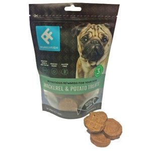 Purely Fish - Mackerel and Potato Treats 100g - Treats - Xtra Dog