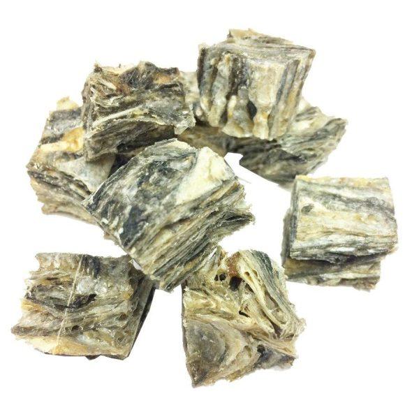 Purely Fish - Whitefish Skin Cubes 100g - Treats - Xtra Dog