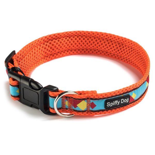 Spiffy Dog, Orange Blue Sunset Collar - Collars - Xtra Dog