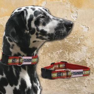Spiffy Dog, Red Bones Collar