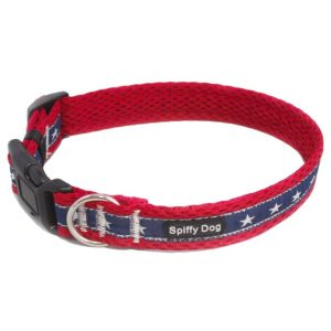 Spiffy Dog, Red Stars Collar