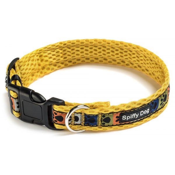 Spiffy Dog, Yellow Paws Collar - Collars - Xtra Dog