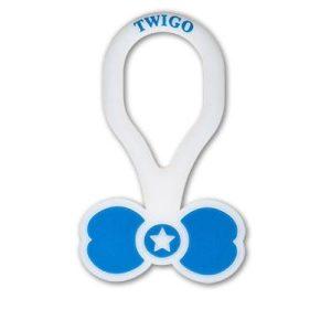 Twigo Pet ID tag – Bone Tie Blue