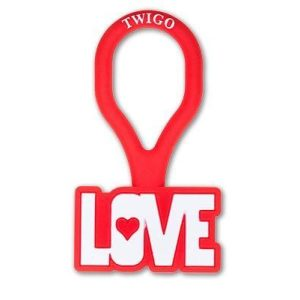 Twigo Pet ID tag Love