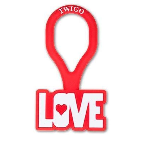 Twigo Pet ID tag Love - Pet Tag - Xtra Dog