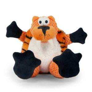 goDog Checkers – Toothy the Sitting Tiger with Chew Guard Technology
