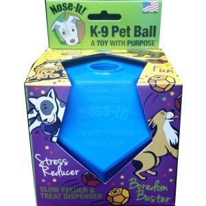 Nose-It! K-9 – A Toy with Purpose Pet Ball Flex Treat and Food Dispenser